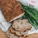 pão de aveia e nozes
